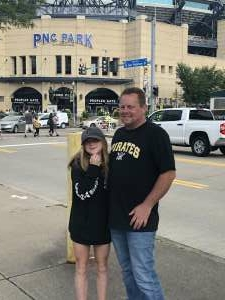 Bill Haas attended Pittsburgh Pirates vs. Milwaukee Brewers - MLB on Jul 29th 2021 via VetTix