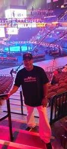 Al attended Bellator MMA 262: Velasquez vs. Kielholtz on Jul 16th 2021 via VetTix