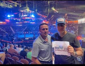 Diego Rosales attended Bellator MMA 262: Velasquez vs. Kielholtz on Jul 16th 2021 via VetTix