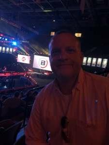 Roy attended Bellator MMA 262: Velasquez vs. Kielholtz on Jul 16th 2021 via VetTix