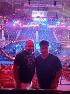 Luis attended Bellator MMA 262: Velasquez vs. Kielholtz on Jul 16th 2021 via VetTix