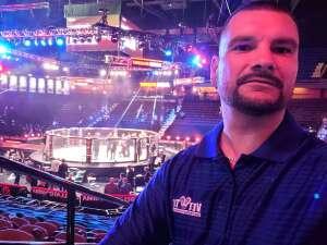 Charles attended Bellator MMA 262: Velasquez vs. Kielholtz on Jul 16th 2021 via VetTix