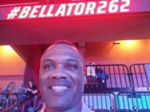 J. Dance attended Bellator MMA 262: Velasquez vs. Kielholtz on Jul 16th 2021 via VetTix