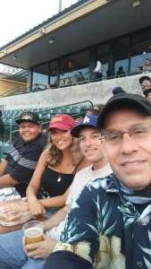 Dan attended Inland Empire 66ers vs Lake Elsinore Storm - MiLB on Jul 22nd 2021 via VetTix