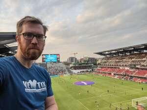 Tim attended DC United vs. New York Red Bulls - MLS on Jul 25th 2021 via VetTix