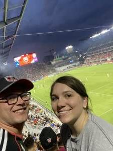 Thx VetTix attended DC United vs. New York Red Bulls - MLS on Jul 25th 2021 via VetTix