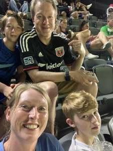 Shawn Riggle attended DC United vs. New York Red Bulls - MLS on Jul 25th 2021 via VetTix