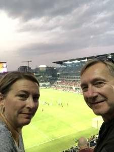 Mike and Melissa attended DC United vs. New York Red Bulls - MLS on Jul 25th 2021 via VetTix