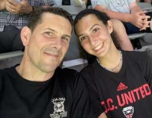 Jim Gregory attended DC United vs. New York Red Bulls - MLS on Jul 25th 2021 via VetTix