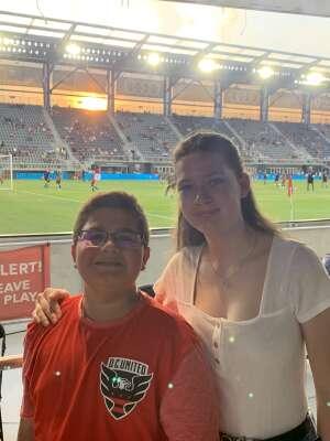 Vet Family attended DC United vs. New York Red Bulls - MLS on Jul 25th 2021 via VetTix