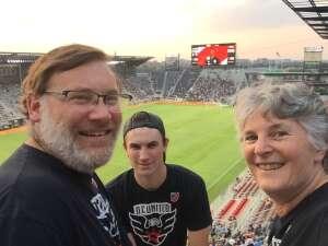 Don C attended DC United vs. New York Red Bulls - MLS on Jul 25th 2021 via VetTix