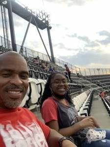 Linnie Mcclellan attended DC United vs. New York Red Bulls - MLS on Jul 25th 2021 via VetTix