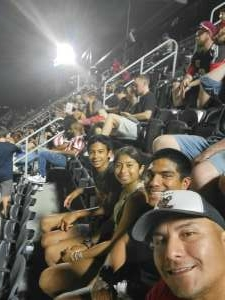 Jose  attended DC United vs. New York Red Bulls - MLS on Jul 25th 2021 via VetTix
