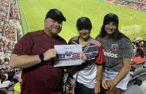 Dale attended DC United vs. New York Red Bulls - MLS on Jul 25th 2021 via VetTix