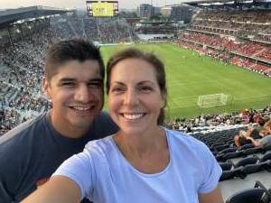 Emily C attended DC United vs. New York Red Bulls - MLS on Jul 25th 2021 via VetTix