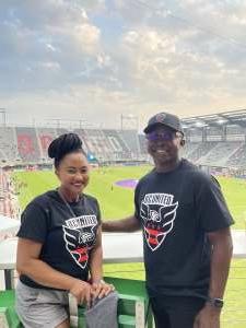 Ernest Merriweather attended DC United vs. New York Red Bulls - MLS on Jul 25th 2021 via VetTix