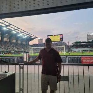 Mike attended DC United vs. New York Red Bulls - MLS on Jul 25th 2021 via VetTix