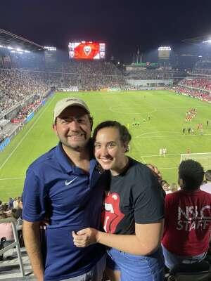 Ryan attended DC United vs. New York Red Bulls - MLS on Jul 25th 2021 via VetTix