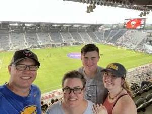 Colin Echols attended DC United vs. New York Red Bulls - MLS on Jul 25th 2021 via VetTix