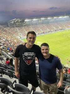 Andrew Ertl attended DC United vs. New York Red Bulls - MLS on Jul 25th 2021 via VetTix