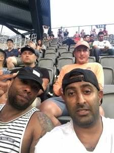 Singh attended DC United vs. New York Red Bulls - MLS on Jul 25th 2021 via VetTix