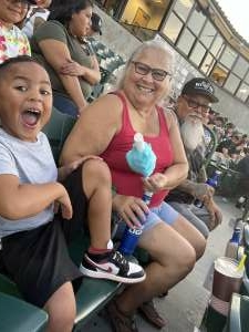 Cappy attended Inland Empire 66ers vs Lake Elsinore Storm - MiLB on Jul 23rd 2021 via VetTix