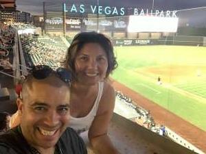 mace attended Las Vegas Aviators vs. El Paso Chihuahuas - MiLB on Jul 20th 2021 via VetTix
