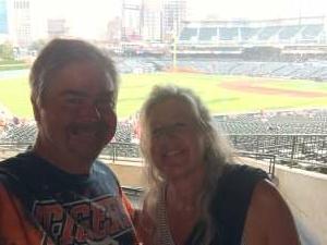 Mike C. attended Detroit Tigers vs. Texas Rangers - MLB on Jul 20th 2021 via VetTix