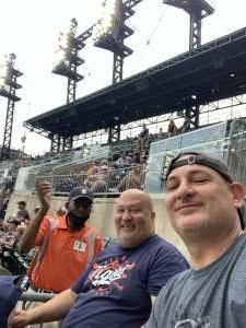 Joe attended Detroit Tigers vs. Texas Rangers - MLB on Jul 20th 2021 via VetTix