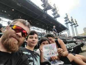 Sonny attended Detroit Tigers vs. Texas Rangers - MLB on Jul 20th 2021 via VetTix