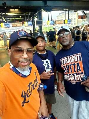Johnny b  attended Detroit Tigers vs. Texas Rangers - MLB on Jul 20th 2021 via VetTix