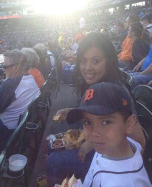 Damaris Rodriguez attended Detroit Tigers vs. Texas Rangers - MLB on Jul 20th 2021 via VetTix