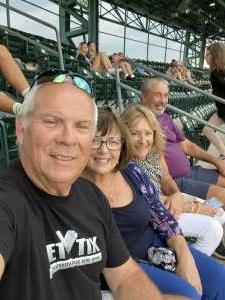 Dan Dupuis attended Detroit Tigers vs. Texas Rangers - MLB on Jul 20th 2021 via VetTix