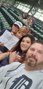 N8 attended Detroit Tigers vs. Texas Rangers - MLB on Jul 20th 2021 via VetTix