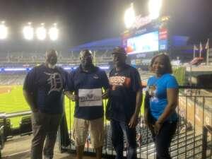 Piner attended Detroit Tigers vs. Texas Rangers - MLB on Jul 20th 2021 via VetTix