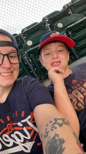 Kaley attended Detroit Tigers vs. Texas Rangers - MLB on Jul 20th 2021 via VetTix