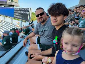 Andrew  attended Michigan State Spartans vs. Youngstown State Penguins - NCAA Football on Sep 11th 2021 via VetTix