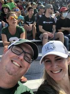 Chad attended Michigan State Spartans vs. Youngstown State Penguins - NCAA Football on Sep 11th 2021 via VetTix