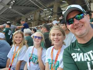 Chris  attended Michigan State Spartans vs. Youngstown State Penguins - NCAA Football on Sep 11th 2021 via VetTix