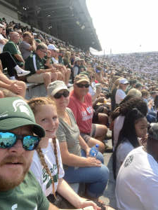 Goober attended Michigan State Spartans vs. Youngstown State Penguins - NCAA Football on Sep 11th 2021 via VetTix
