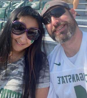 Michael attended Michigan State Spartans vs. Youngstown State Penguins - NCAA Football on Sep 11th 2021 via VetTix