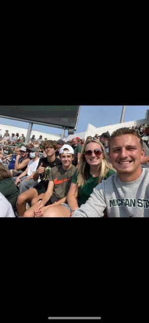 Steve attended Michigan State Spartans vs. Youngstown State Penguins - NCAA Football on Sep 11th 2021 via VetTix