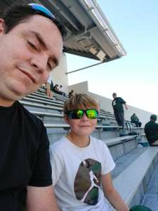 Corey Buechler  attended Michigan State Spartans vs. Youngstown State Penguins - NCAA Football on Sep 11th 2021 via VetTix