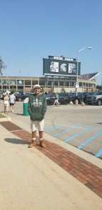 KARS attended Michigan State Spartans vs. Youngstown State Penguins - NCAA Football on Sep 11th 2021 via VetTix