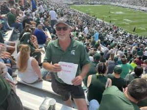 Click To Read More Feedback from Michigan State Spartans vs. Youngstown State Penguins - NCAA Football