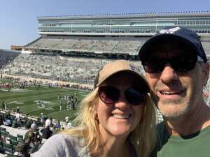 Chaplain Greg attended Michigan State Spartans vs. Youngstown State Penguins - NCAA Football on Sep 11th 2021 via VetTix