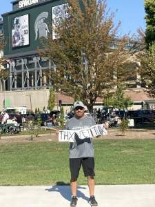 orlando attended Michigan State Spartans vs. Youngstown State Penguins - NCAA Football on Sep 11th 2021 via VetTix