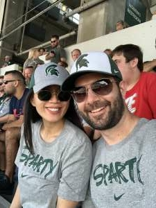 Greg H attended Michigan State Spartans vs. Youngstown State Penguins - NCAA Football on Sep 11th 2021 via VetTix
