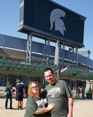 Sgtgrim attended Michigan State Spartans vs. Youngstown State Penguins - NCAA Football on Sep 11th 2021 via VetTix