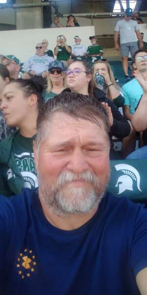 Ron smith attended Michigan State Spartans vs. Youngstown State Penguins - NCAA Football on Sep 11th 2021 via VetTix